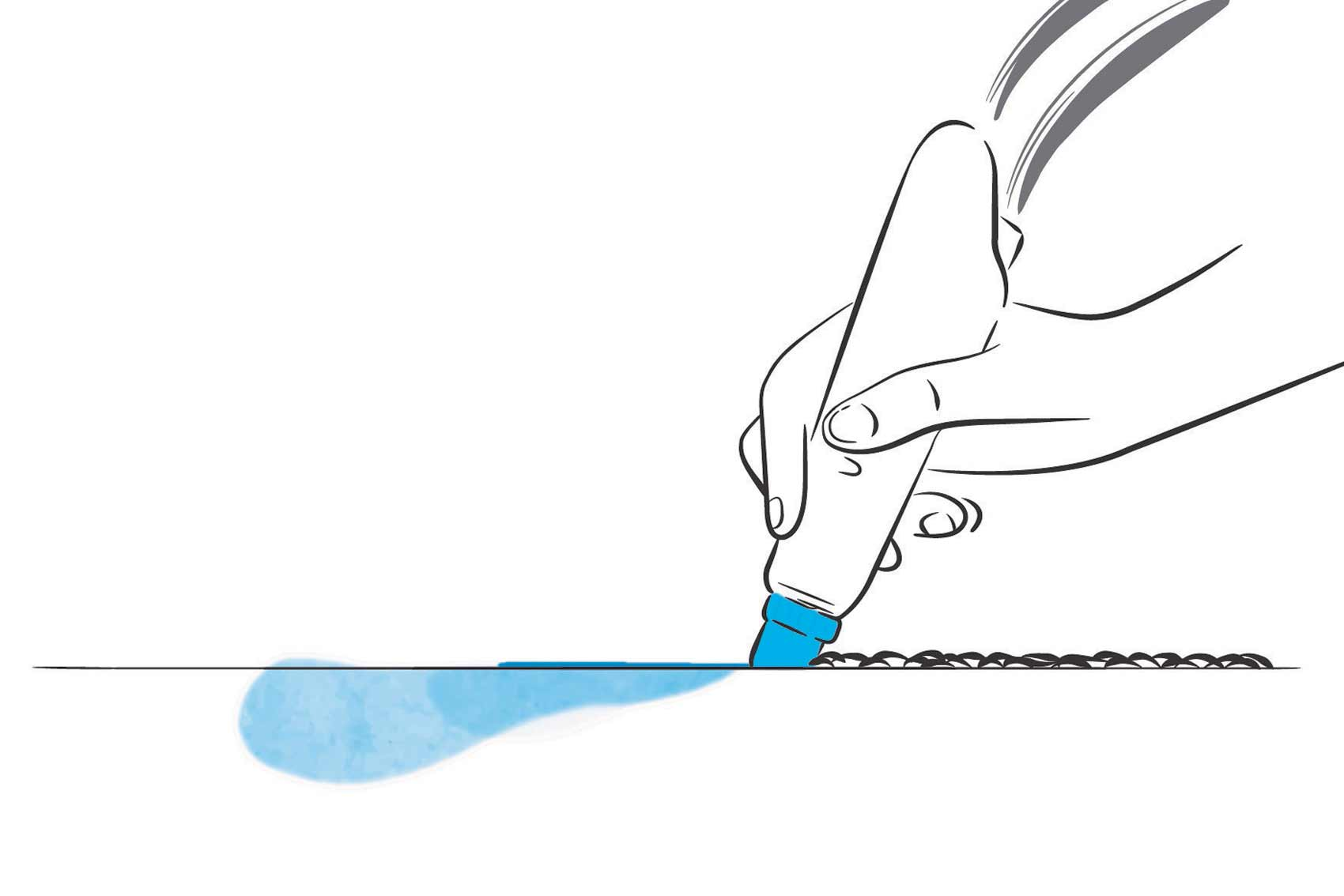 traitement hydrafacial: étape 1