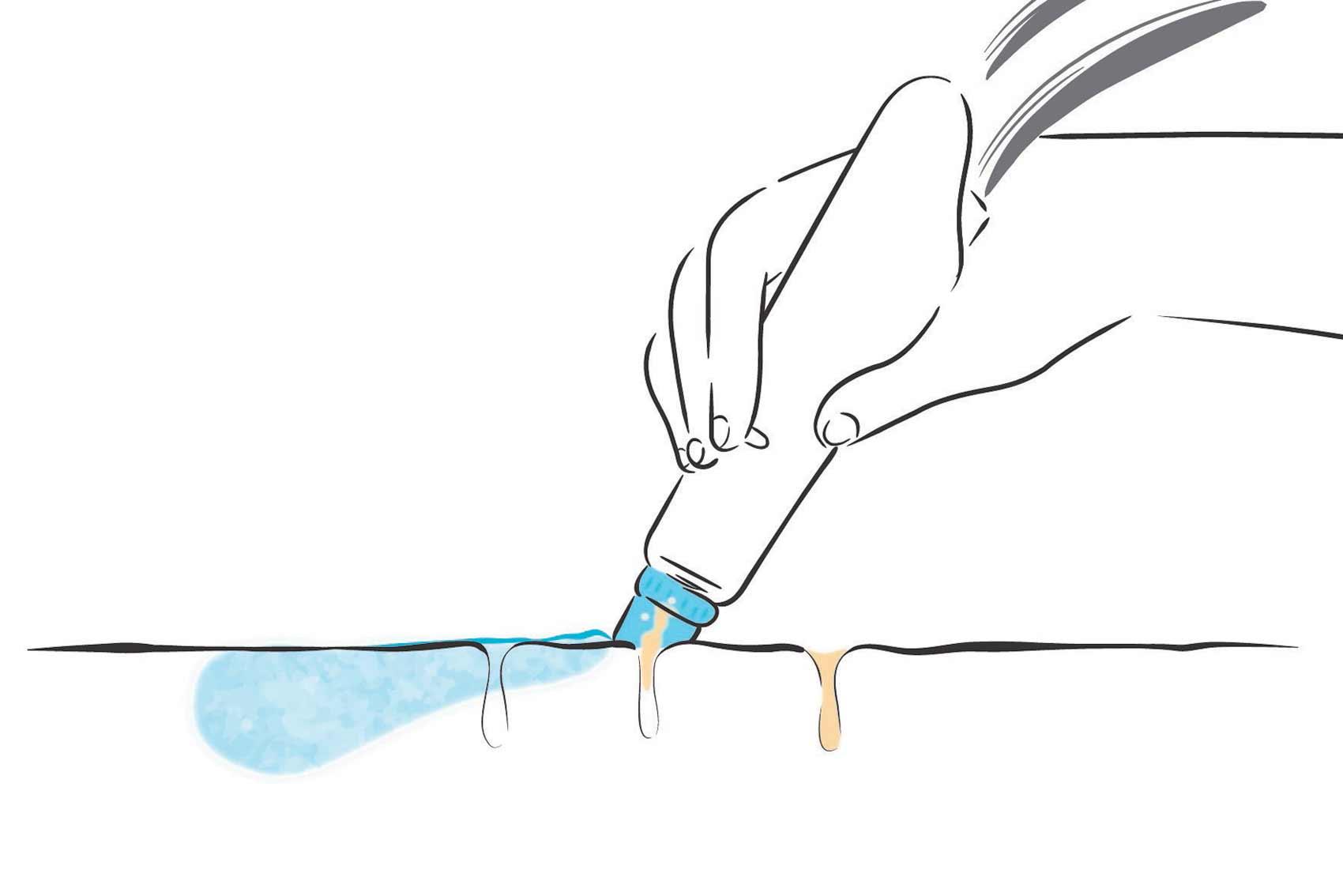 traitement hydrafacial: étape 2
